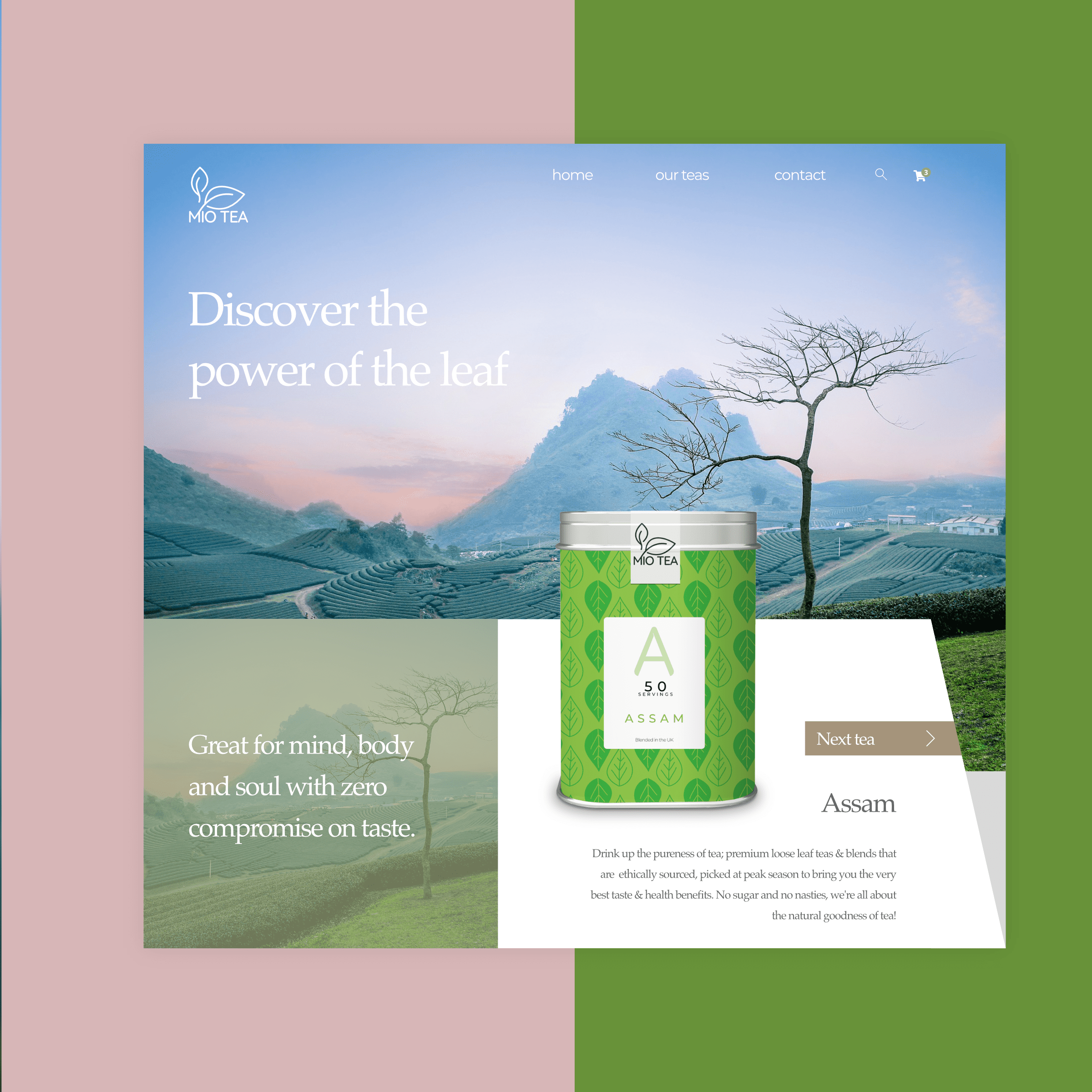 tea website